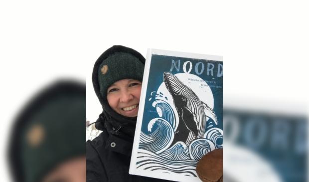 <p>&nbsp;&#39;Noord&#39; weerspiegelt Mariekes passie voor het hoge noorden.&nbsp;</p>