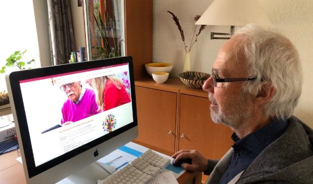 <p>&nbsp;Rob Barzilay is blij met de nieuwe website van PIO.&nbsp;</p>