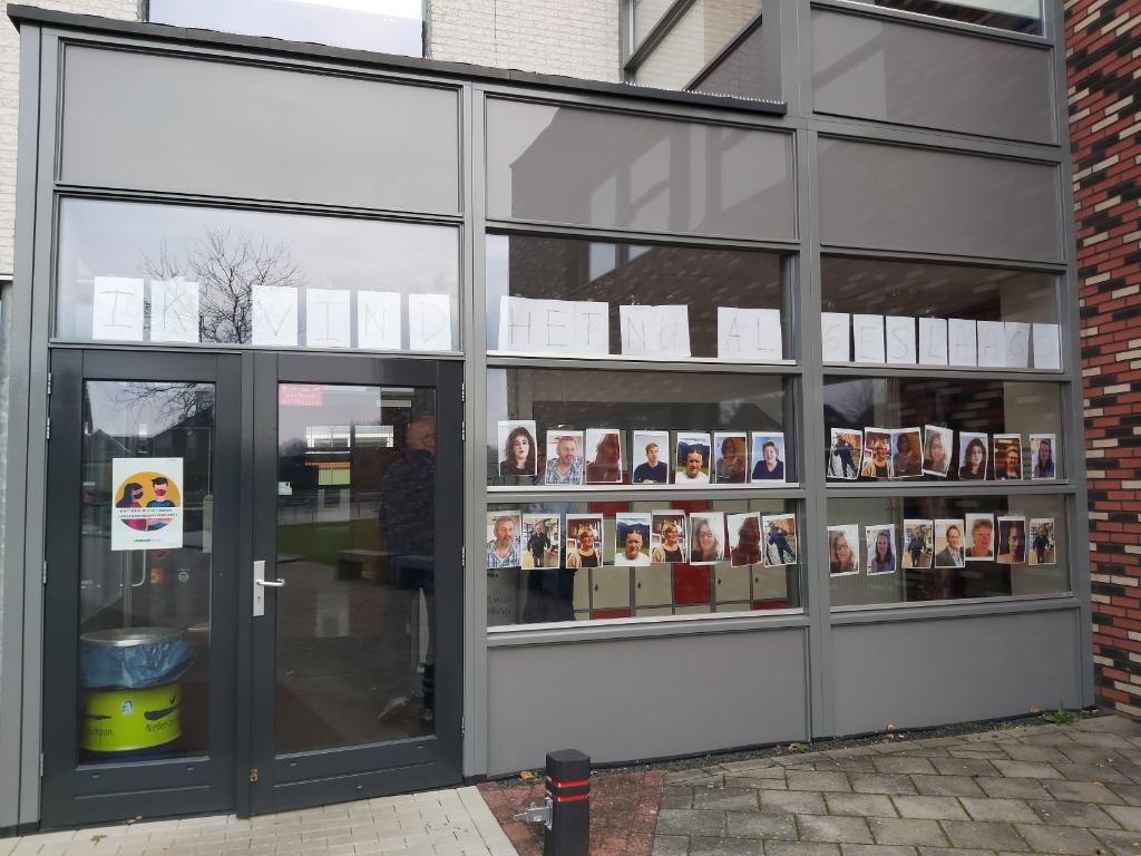 De eindexamenkandidaten zijn er klaar voor. Eigen foto © De Veluwe Koerier