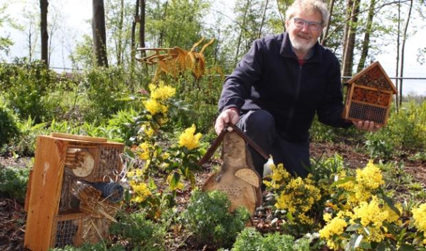 Dick Hup, lid van Groentje en bestuurslid Imkersvereniging Wezep-Hattem-Oldebroek