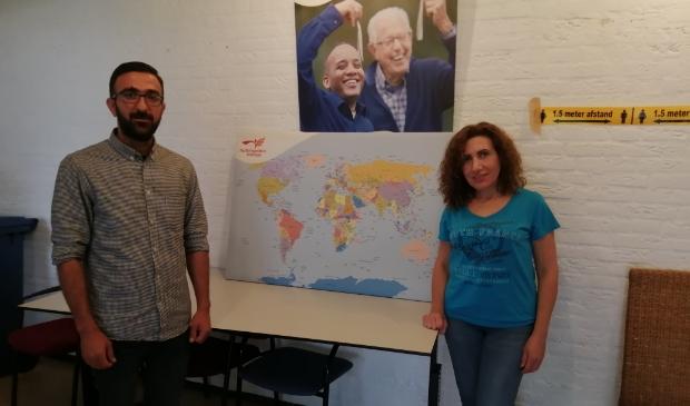 <p>&nbsp;Raman Hussein en Karine Yengibaryan wonen vijf jaar in Nederland.&nbsp;</p>