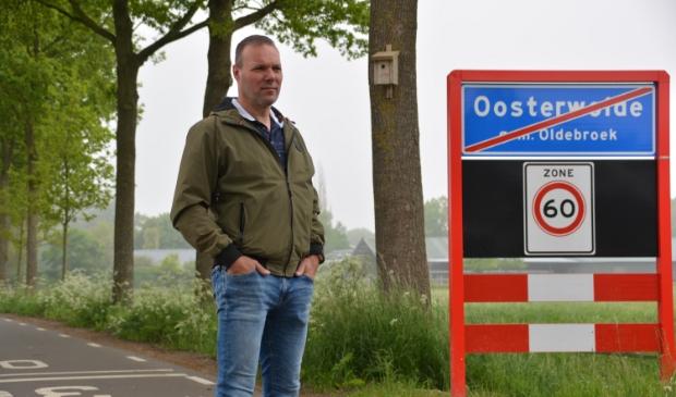 <p>&nbsp;Johan Fidder, regisseur openbaar groen van de gemeente Oldebroek.&nbsp;&nbsp;</p>