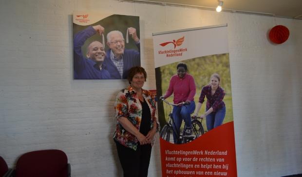 <p>&nbsp;Yvonne Joosten werkt als vrijwilliger bij Vluchtelingenwerk Elburg.&nbsp;&nbsp;</p>