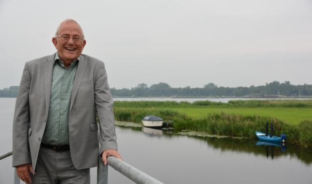 <p>&nbsp;Wethouder Bob Bergkamp in Noordeinde.&nbsp;</p>