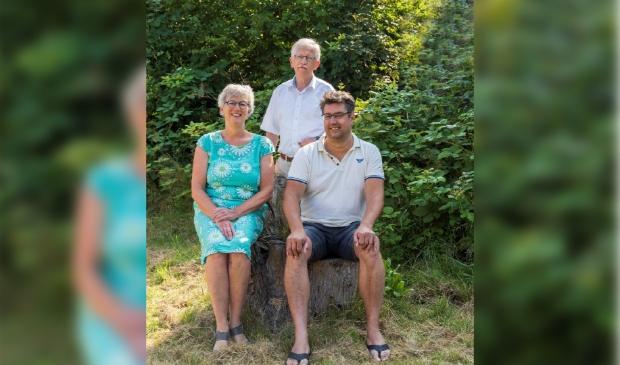 <p>Wilma Rietberg, Fred Westerman en Ronald Gerard </p>