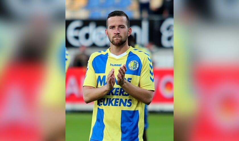 • Kenny Anderson in zijn periode als speler van RKC Waalwijk.