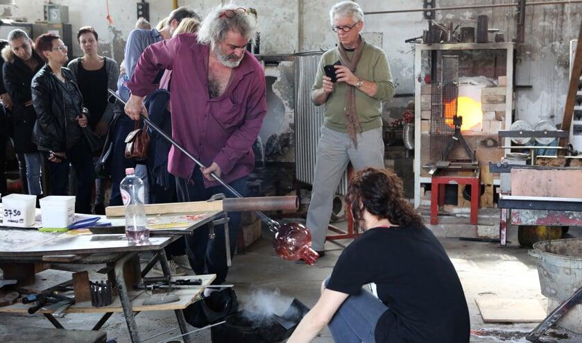 • Bernard Heesen is betrokken bij de nieuwe glasmanifestatie.