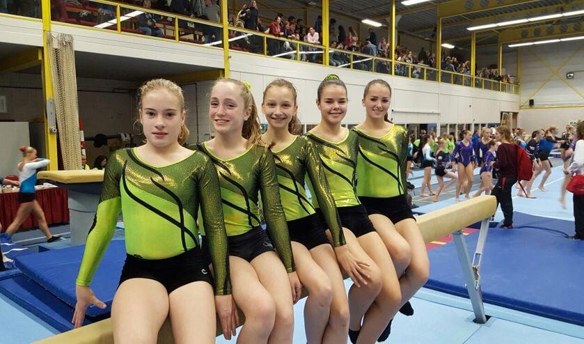 • Het team van Hamarithi, v.l.n.r. Fleur Danklof, Nadine Vervoorn, Vera Westervoort, Tessa van Dalen en Kim van Wijk