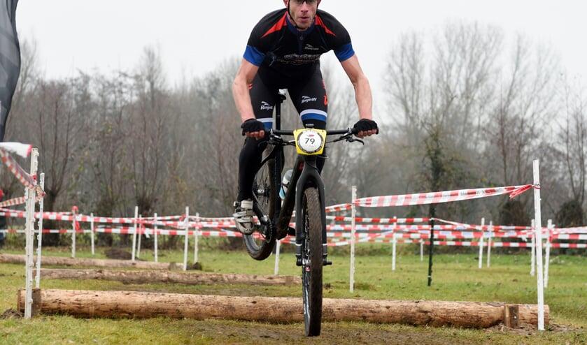 • Pieter Wonink was in zijn thuiswedstrijd een klasse apart.