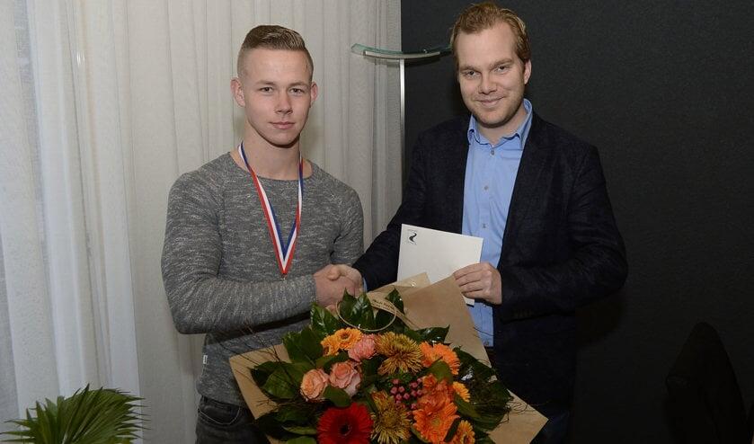 • Rick Sonnema werd vorige week nog in het zonnetje gezet voor zijn behaalde Nederlandse titel.