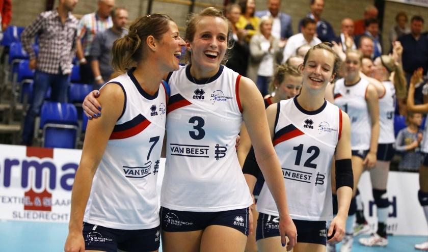 • Esther Hullegie keert komend seizoen terug bij Sliedrecht Sport. (foto: Pim Waslander / Sliedrecht Sport)