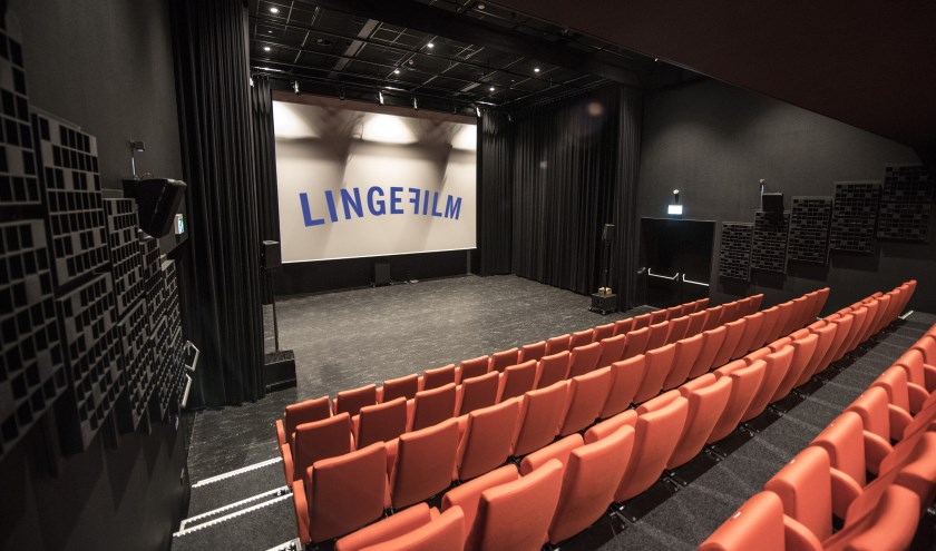De zaal van LingeFilm in De Pluk.