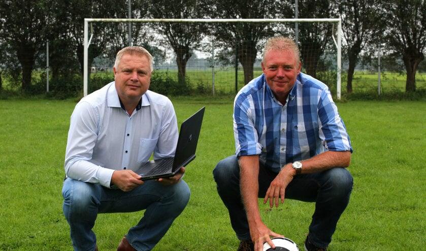 • Frans van der Wiel en Rick den Besten.
