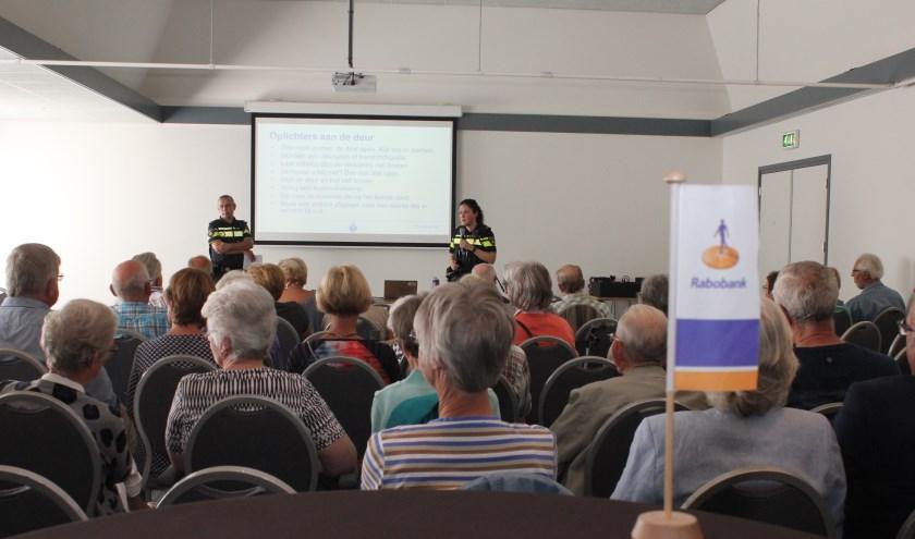 • Eén van de drie workshops ging over veiligheid in huis. Foto: Janneke Boogaard