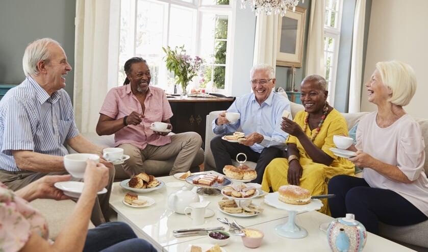 <p>&bull; In een Krasse Knarrenhof kunnen ouderen elkaar steun en gezelligheid bieden.</p>