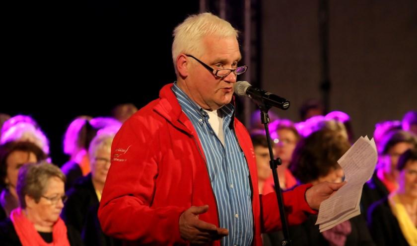 • Hans den Ouden, dit jaar tijdens de Muziekmarathon.