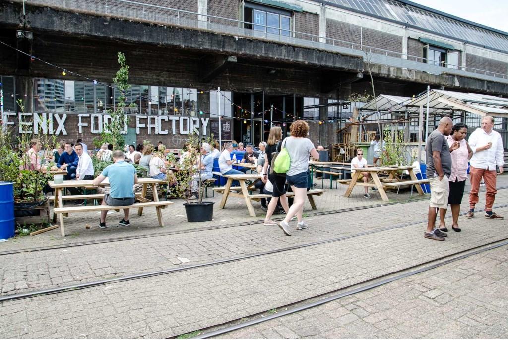• De Fenix Food Factory in Rotterdam. Foto: Aangeleverd © Alblasserwaard