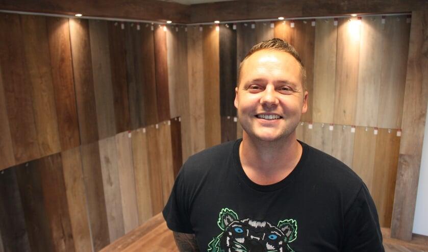 • Patrick van Waas in zijn winkel/showroom.