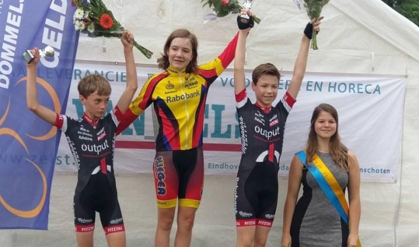 • Anna van der Meiden werd eerste in Geldrop.