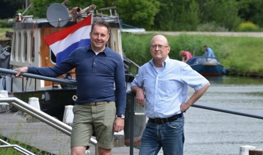 • Patrick Blankensteijn (l.) en Peter Verhoeven, twee van de initiatiefnemers.