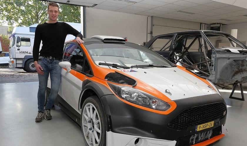 Roald Leemans test Ford Fiesta R5.