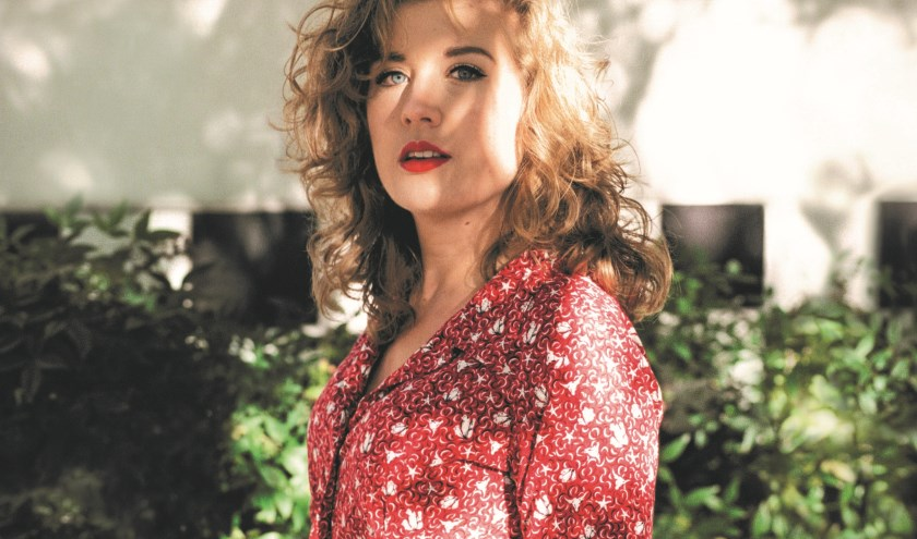 Judy Blank treedt op in Xinix.