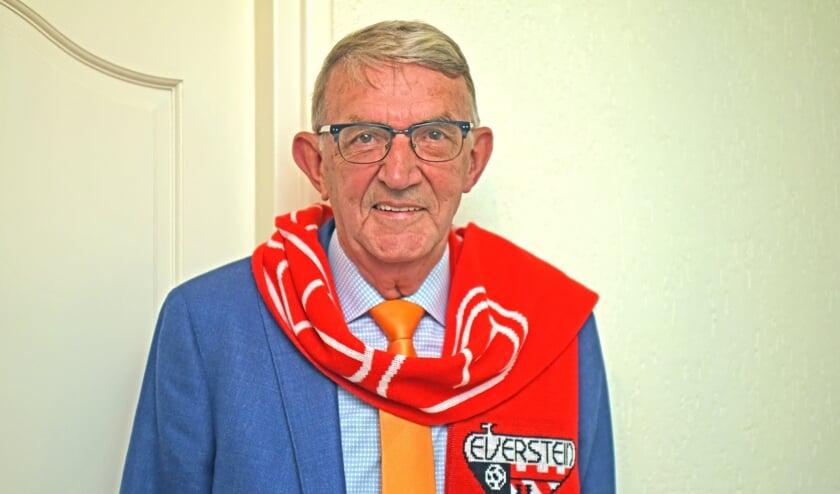 • Arie van Vuren is nu alleen nog supporter van SC Everstein.