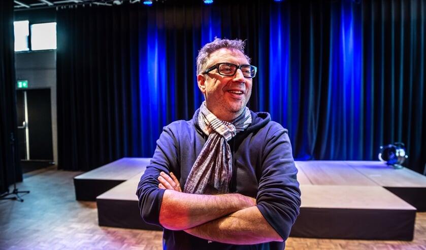 • Theaterproducent en artistiek leider John de Heij in De Theaterbakkerheij: 'Het moet hier gaan bruisen'.