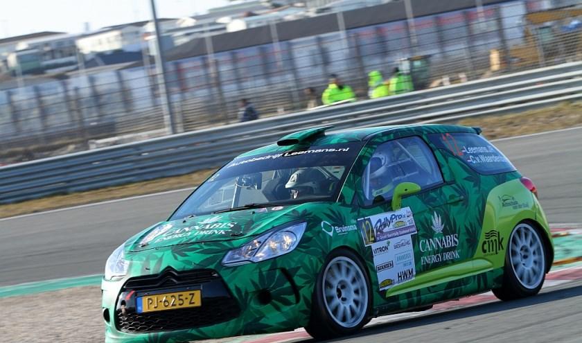 • Rally Team Leemans in actie.