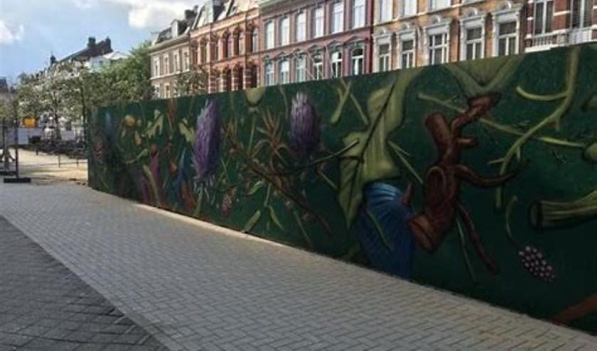 • De Stations Tuin in Maastricht, gemaakt door Collin van der Sluijs.