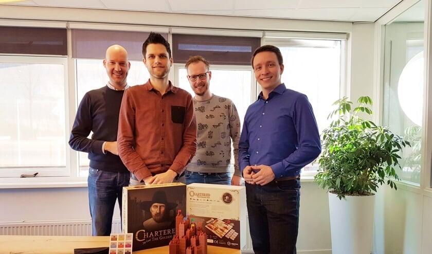 • De vier mannen van Treffend & Co.