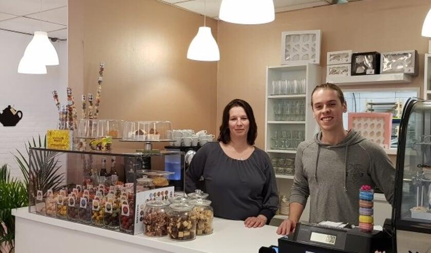 De IJsselsteinse binnenstad heeft er een leuke, nieuwe winkel bij. Eentje vol lekkernijen! (Eigen foto)