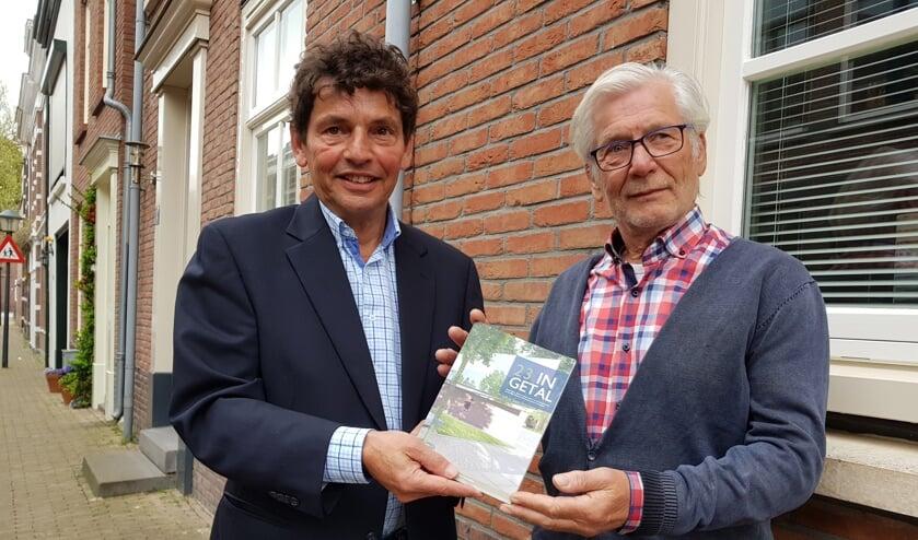 Raoul Nijst en Bert van Straten werkten in 2018 samen aan het boekje '23 in Getal'.