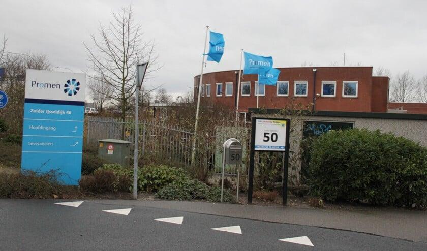 • De locatie van het sociaal werkbedrijf Promen in Gouda.