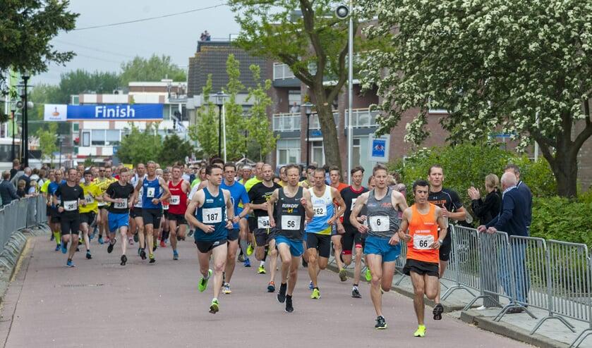• De Hemelvaartsdagloop telde 183 deelnemers.
