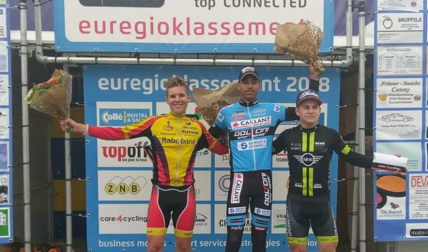 • Jens Bassa werd tweede in Belgisch Limburg.