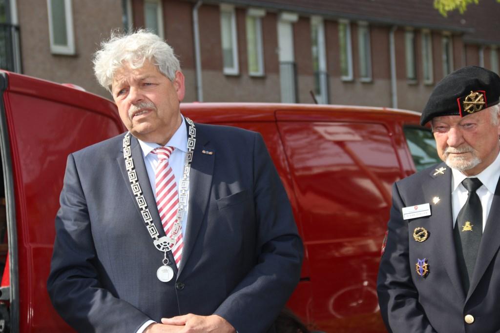 • Burgemeester Tjerk Bruinsma Foto: Dick Aanen © Leerdam