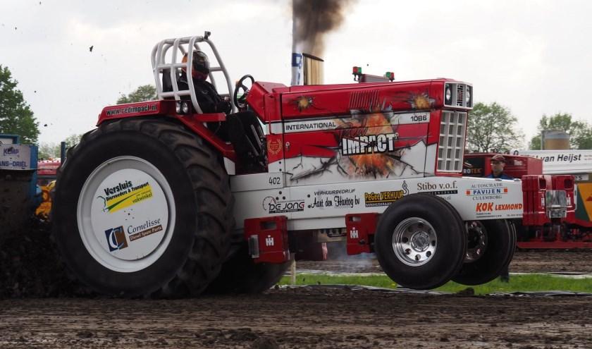 Red Impact was goed op dreef in Stroe.