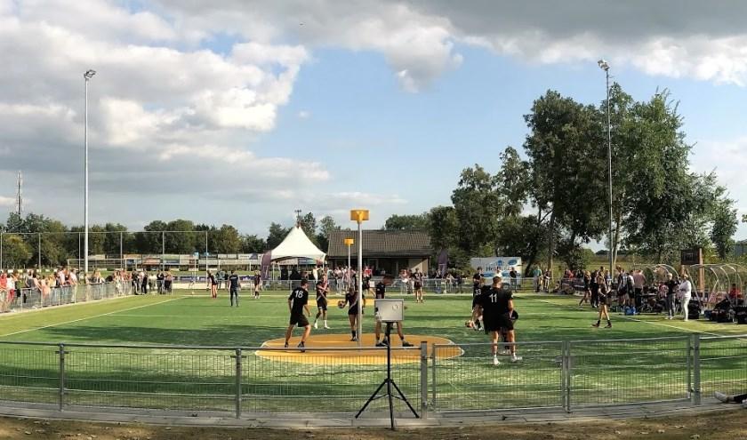 • Het veld werd zaterdag geopend.