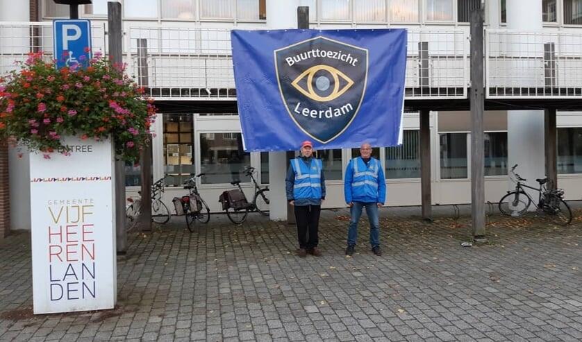 • Ook in Leerdam waren de toezichthouders actief.