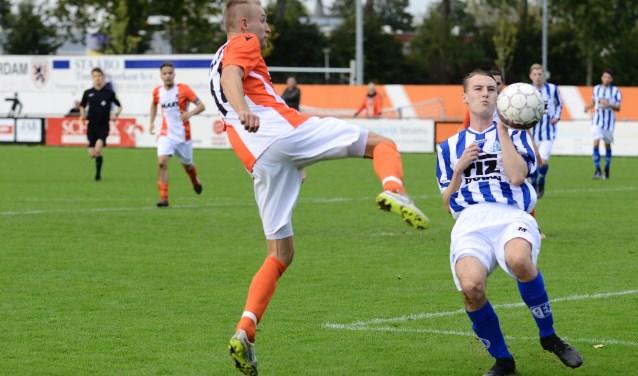 • Alblasserdam - Schoonhoven (3-0). Foto: Alexander de Jong © regiosport