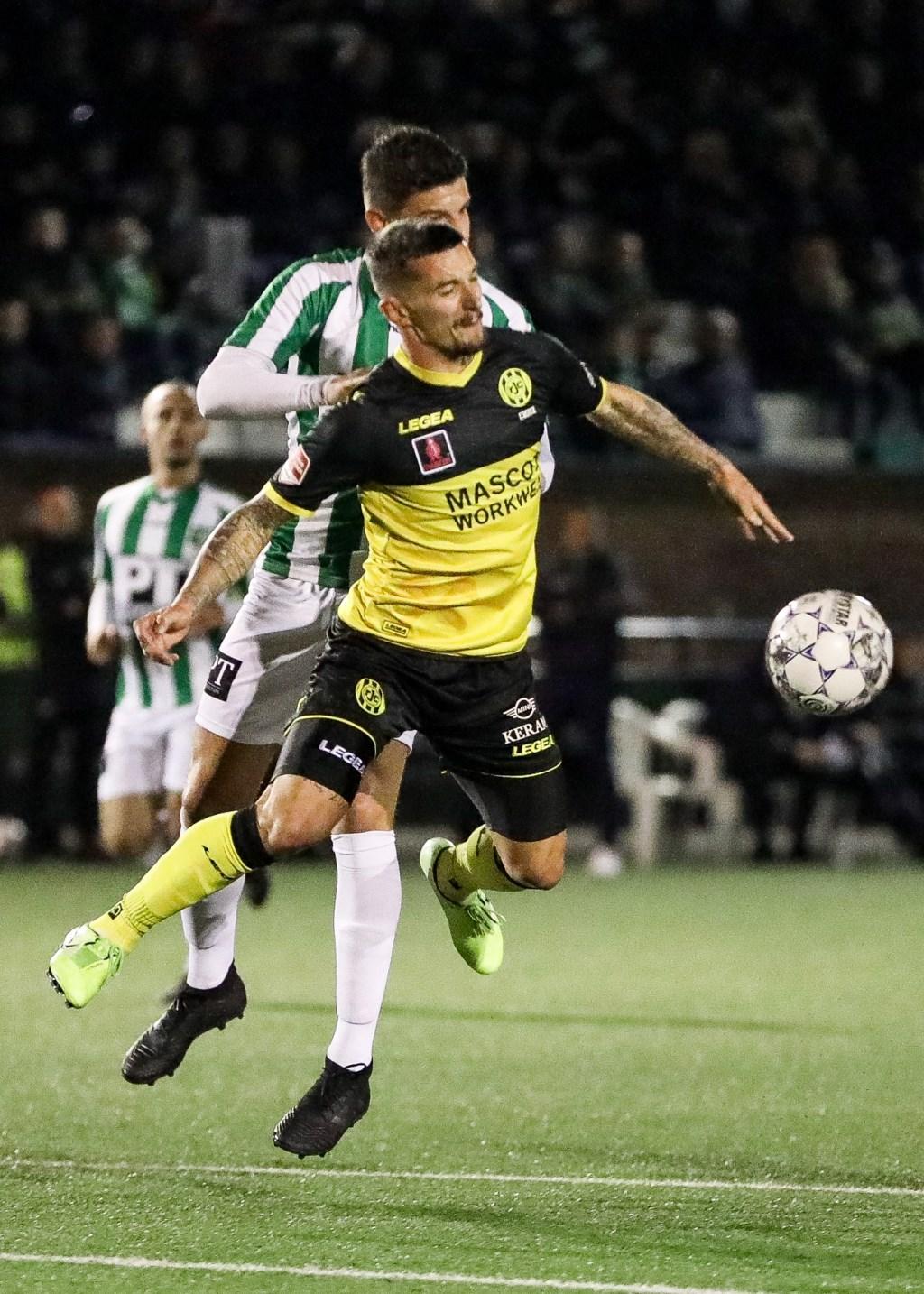 • Achilles Veen - Roda JC (0-2). Foto: Rick den Besten - Regio-Voetbal © Heusden en Altena