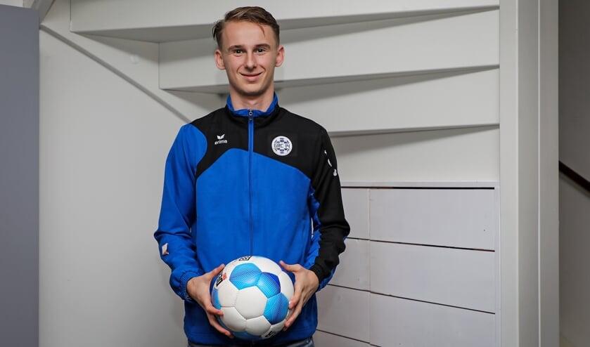 • Met zijn goal namens GRC 14 deed Max Opsteeg zijn voormalige ploeg pijn.