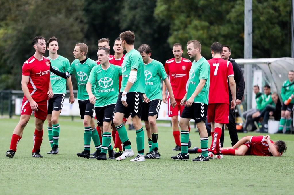 • Peursum - SV Noordeloos (1-1). Foto: Rick den Besten - Regio-Voetbal © regiosport