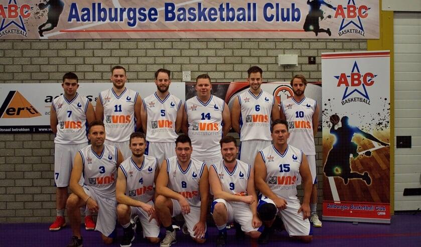 Het nieuwe tenue van ABC Basketball.