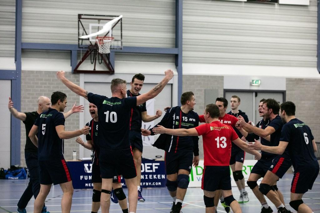 • AVVA - VC WIK 2 (4-0). Foto: Gyselle Blokland © Alblasserwaard