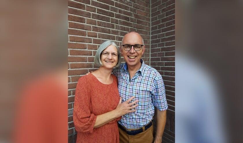 • Dominee Markus en zijn vrouw Josien zijn samen actief in Leerdam-west.