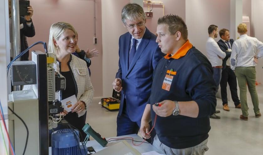 Vorig jaar opende minister Arie Slob nog de bedrijfsschool bij Tibo-Veen.