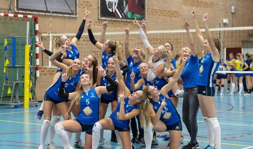 • 'The only way is up!' voor de meiden van Voltena.