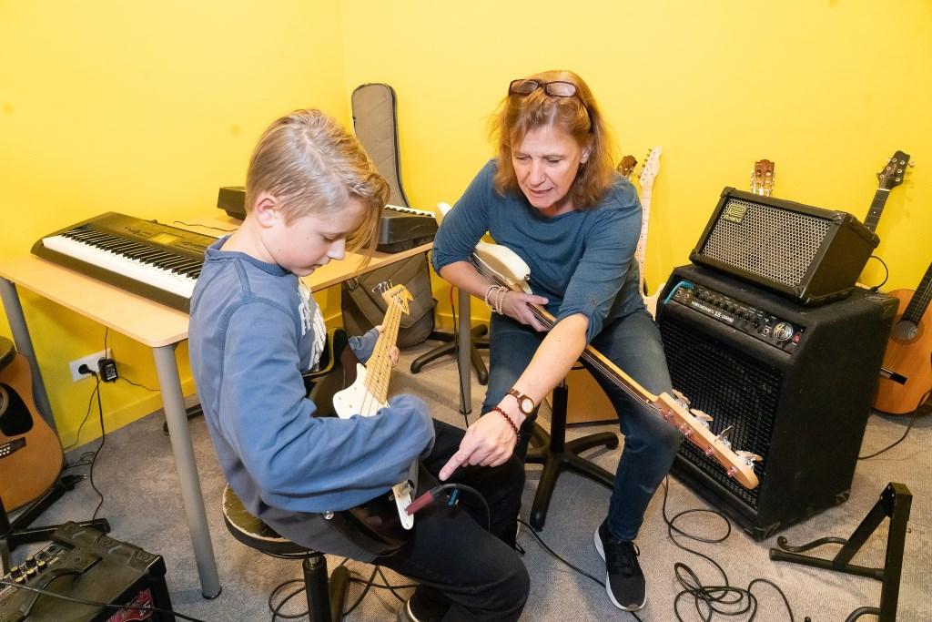 Open Dag Muziekschool Vianen,  Foto: Nico Van Ganzewinkel © Vianen